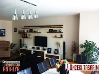 Salones mediterráneos de Ev Dekorasyonu Antalya Mediterráneo