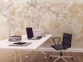 World Map Wallpaper Love Maps On Ltd. Study/officeAccessories & decoration