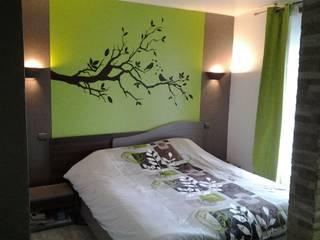 Modern Yatak Odası GC Aménagement Intérieur Modern