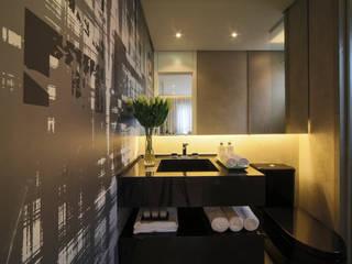 ONE_Pompéia: Banheiros  por Chris Silveira & Arquitetos Associados