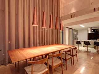 Modern Yemek Odası ÓBVIO: escritório de arquitetura Modern