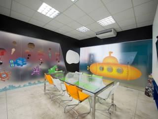 Коммерческие помещения в . Автор – ÓBVIO: escritório de arquitetura, Модерн