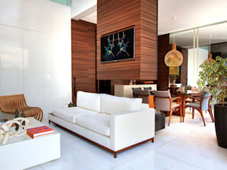 Maina Harboe Arquitetura Modern living room