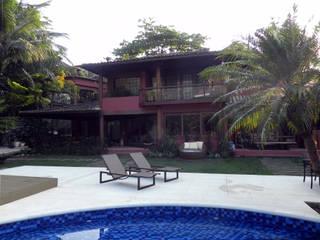 Lote 21 Arquitetura e Interiores Casas de estilo rústico