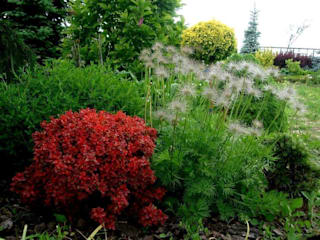 Ogród pokazowy od Garden Ekspert Studio Architektury Krajobrazu Klasyczny