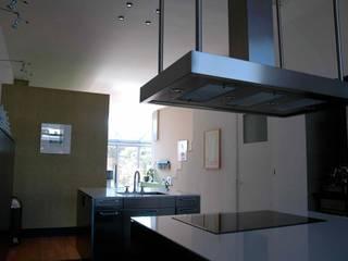 TIEN+ architecten Cucina moderna