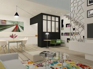 Appartement 150m2 Cuisine moderne par Silvia Gianni Moderne