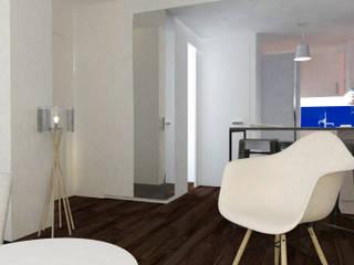 Appartement Levallois: Salon de style de style Moderne par Silvia Gianni