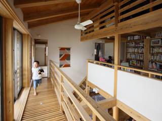 キャットウォーク: 芦田成人建築設計事務所が手掛けたベランダです。