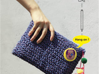 Rope knitting bag series. by Knitster