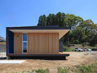 CONVEX HOUSE / 西側外観: SCALE ||| 株式会社スケールが手掛けた家です。