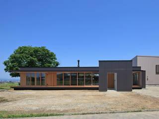 CONVEX HOUSE / 南側外観1: SCALE ||| 株式会社スケールが手掛けた家です。