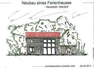 Einfamilienhaus in Mardorf von architekturbüro christian oehr
