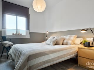 Proyecto Constitució : Dormitorios de estilo  de Dröm Living