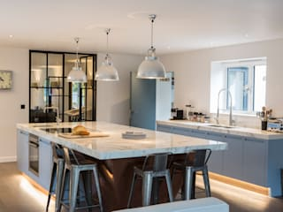 Private Residence, Surrey Nice Brew Interior Design Dapur Modern