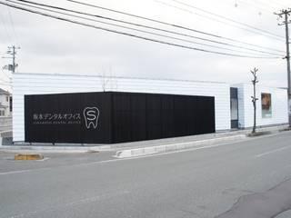 一級建築士事務所A-SA工房 Clínicas de estilo moderno