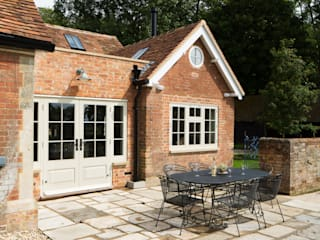 Traditional Farmhouse Kitchen Extension, Oxfordshire Kırsal Mutfak HollandGreen Kırsal/Country