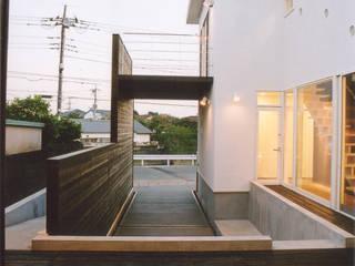 HKO: 阿部泰道建築設計事務所が手掛けた庭です。,