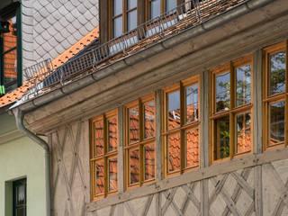 Fassadendetail:  Häuser von qbatur Planungsgenossenschaft eG