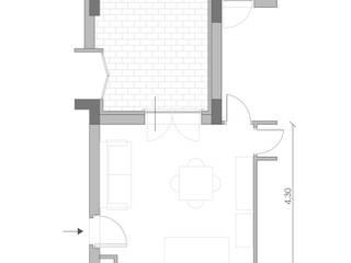 20 mq di funzioni di Architetti StudiOppure Moderno