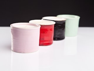 sojowe świece zapachowe (ceramiczne) od Leżę i Pachnę Skandynawski