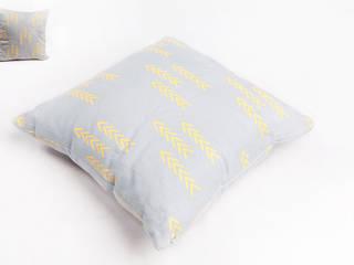 poduszka lniana grey od Leżę i Pachnę Skandynawski