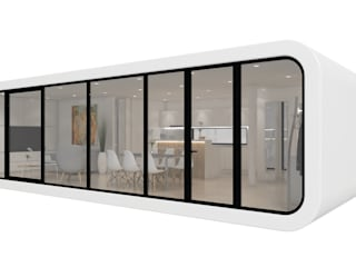 coodo 64 - mobil living:  Esszimmer von LTG Lofts to go - coodo