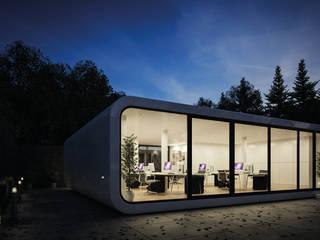 coodo ist mobile living Ausgefallene Bürogebäude von LTG Lofts to go - coodo Ausgefallen