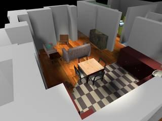 House Map - L'invenzione del quotidiano Soggiorno moderno di Paola Donatiello Moderno