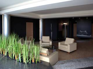 Apartament na dachu Nowoczesny salon od Mobile Design Katarzyna Juszczak Nowoczesny