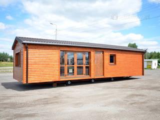 Letniskowo.pl Sp. z o.o. Sp.k. Prefabricated home Wood Brown