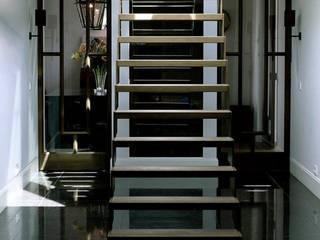 Appartement Amsterdam Moderne gangen, hallen & trappenhuizen van Baden Baden Interior Modern