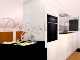 Restauro e progettazione arredamento di un attico in una casa di campagna.. Sala da pranzo eclettica di Design of SOUL Interior DESIGN Eclettico