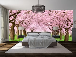 Bedroom wall mural:   by Transform a Wall