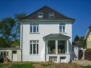 Anbau eines Erkers:  Häuser von architektur. malsch - Planungsbüro für Neubau, Sanierung und Energieberatung