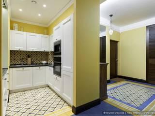 Квартира на Петроградке в колониальном стиле: Кухни в . Автор – Ольга Кулекина - New Interior