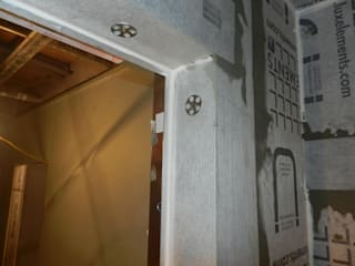 A bespoke Effegibi Steam Room Before - During - After Steam and Sauna Innovation
