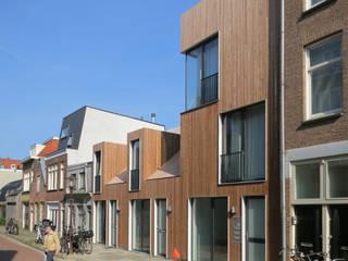 voorgevel:  Huizen door m3h architecten