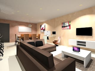 Living room by JbHouseDesigner, Minimalist