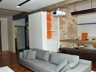 Lote 21 Arquitetura e Interiores Salas de estilo ecléctico