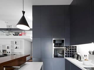 Projekty,  Kuchnia zaprojektowane przez RRJ Arquitectos