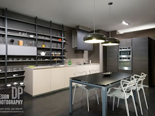 Villa in collina Cucina moderna di Design Photography Moderno