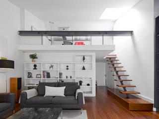 Гостиная в . Автор – RRJ Arquitectos