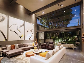 Living room by grupoarquitectura