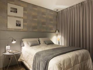 Pura!Arquitetura Camera da letto minimalista