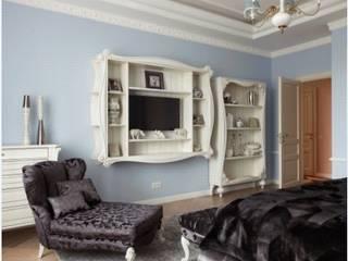 """ЖК """"Белый лебедь"""": Спальни в . Автор – White & Black Design Studio"""