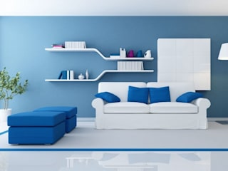 Modern Living Room by Barcelona Pintores.es Modern