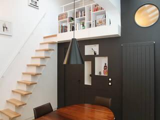 Pavillon esprit loft Salle à manger moderne par MSD architecte d'intérieur Moderne
