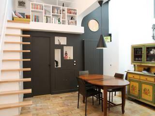 MSD architecte d'intérieur Comedores de estilo moderno