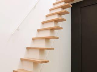 Pavillon esprit loft Couloir, entrée, escaliers modernes par MSD architecte d'intérieur Moderne